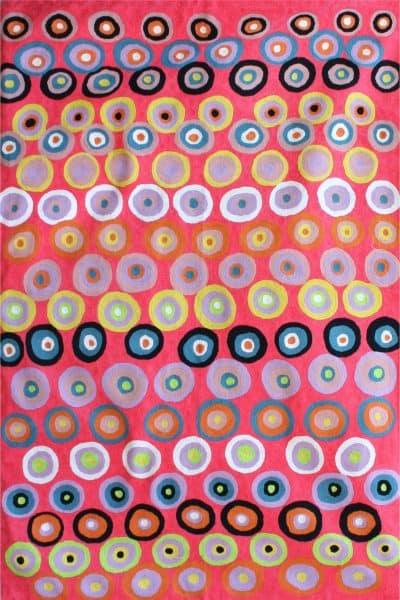 Rug Wool 3x5ft (91x152cm)-DKU925
