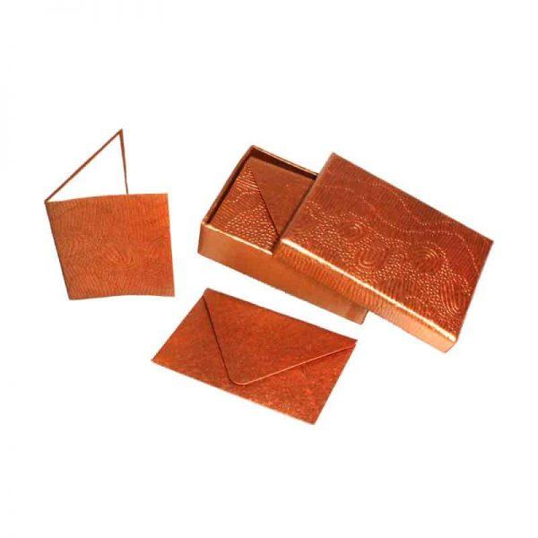 Embossed Cards Set of 8-DYM922