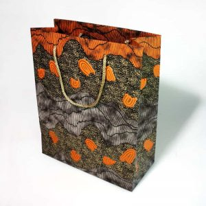 Hand Made Paper Gift Bag Medium-DYM922