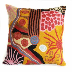 Cushion Cover Wool 12in (30cm)-DYM923