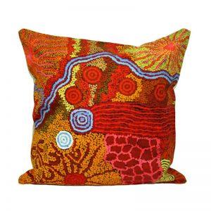 """Canvas Cushion Cover Digital 16""""-DYM923"""