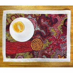 Linen Placemat 2 pcs 40 x 53cm-DYM975