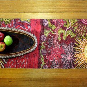Linen Table Runner - No Border-DYM975