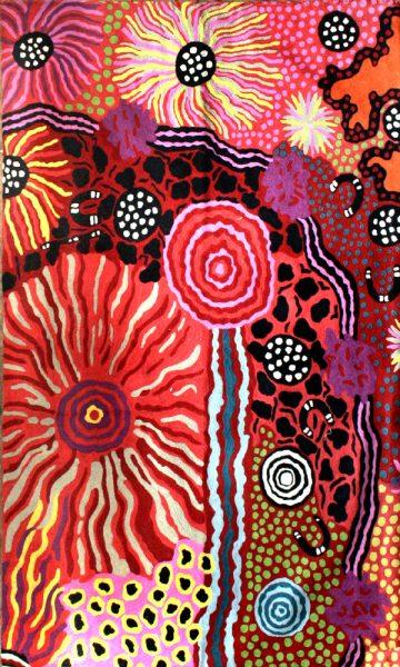 Rug Wool 3x5ft (91x152cm)-DYM975