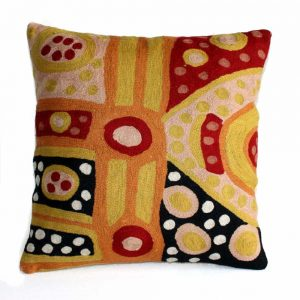 Cushion Cover Wool 16in (40cm)-MGE983