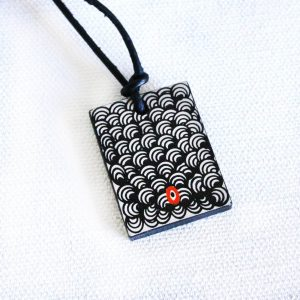 Jewellery Ceramic Pendant-NPA734