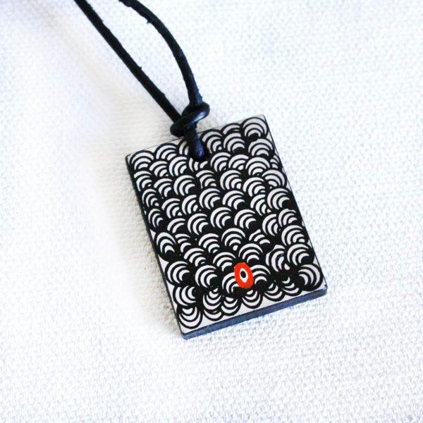 Jewellery Ceramic Pendant-NPA734