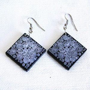 Jewellery Ceramic Earrings-NPA937