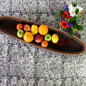 Linen Tablecloth Sq 150 x 150cm-NPA937