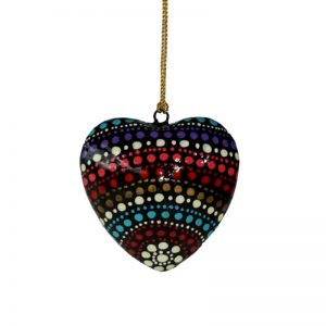 Decorative Heart 7.5 cm -OWI766