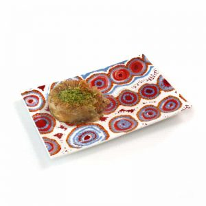 Bone China Cake Plate 17.5 x 12cm-RSA744