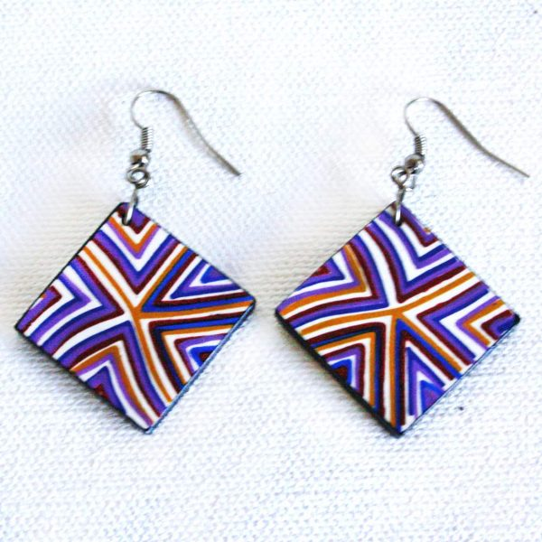 Jewellery Ceramic Earrings-RSA756