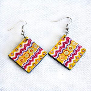 Jewellery Ceramic Earrings-RSA757