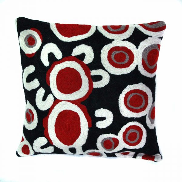 Cushion Cover Wool 12in (30cm)-RSA926