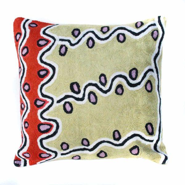 Cushion Cover Wool 12in (30cm)-RSA950