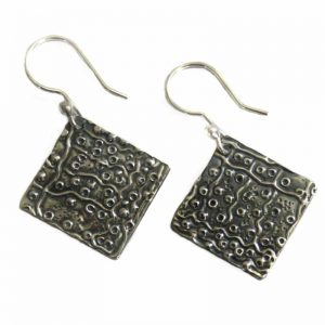 Jewellery Silver Earrings-RSA950
