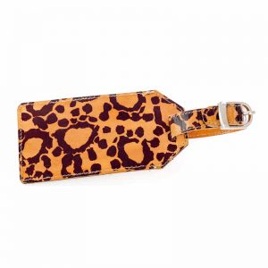 Leather Luggage Tag-RSN988