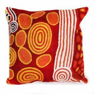 Cushion Cover Wool 16in (40cm)-RTI972