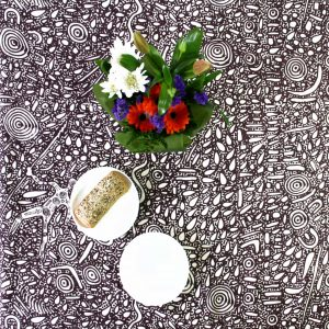 Cotton Table Cloth Sq 150 x 150cm-SPM745