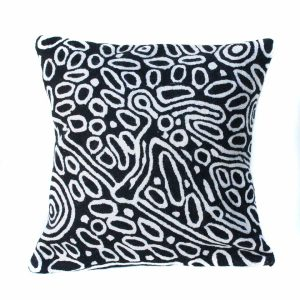 Cushion Cover Wool 12in (30cm)-SPM745