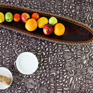 Linen Table Cloth Lg 150 x 230cm-SPM745