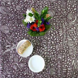 Linen Tablecloth Sq 150 x 150cm-SPM745