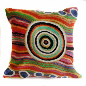 Cushion Cover Wool 16in (40cm)-YHE736