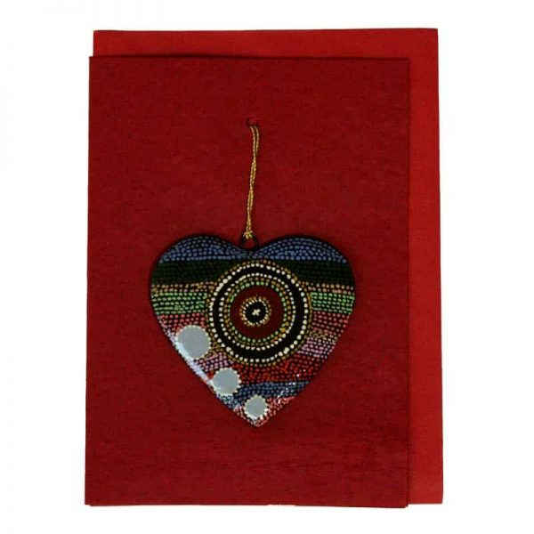 Heart Card-YHE736