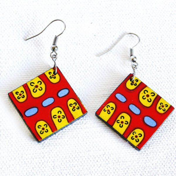 Jewellery Ceramic Earrings-YHE970