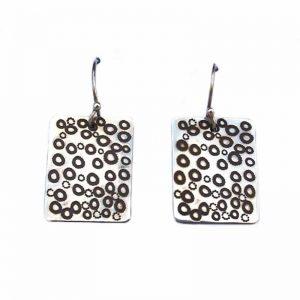 Jewellery Silver Earrings-RSA910