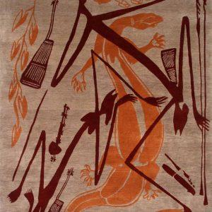 Tibetan Hand-Knotted Rug 1.5x2m-GMA201
