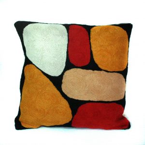 Cushion Cover Wool 12in (30cm)-KZI321