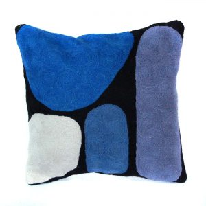 Cushion Cover Wool 12in (30cm)-KZI322