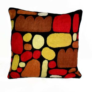 Cushion Cover Wool 12in (30cm)-KZI324