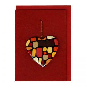 Heart Card-KZI324