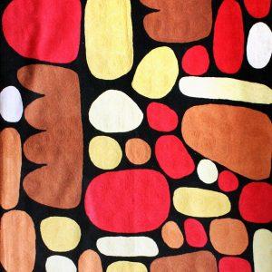 Rug Wool 3x5ft (91x152cm)-KZI324