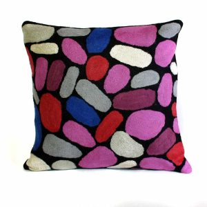 Cushion Cover Wool 12in (30cm)-KZI325