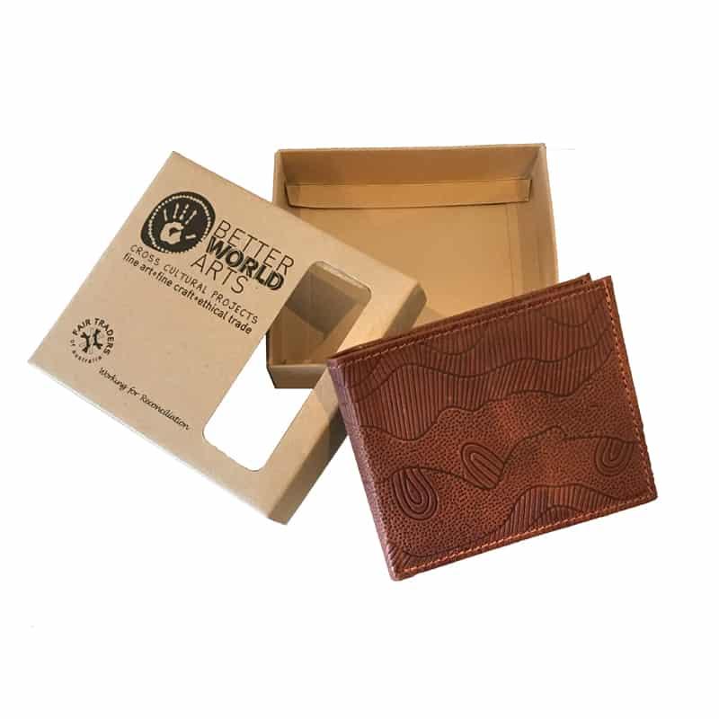 Wallet No.13 Leather -Tan 212 Colour-DYM922 – Better World Arts c36b55503c01b
