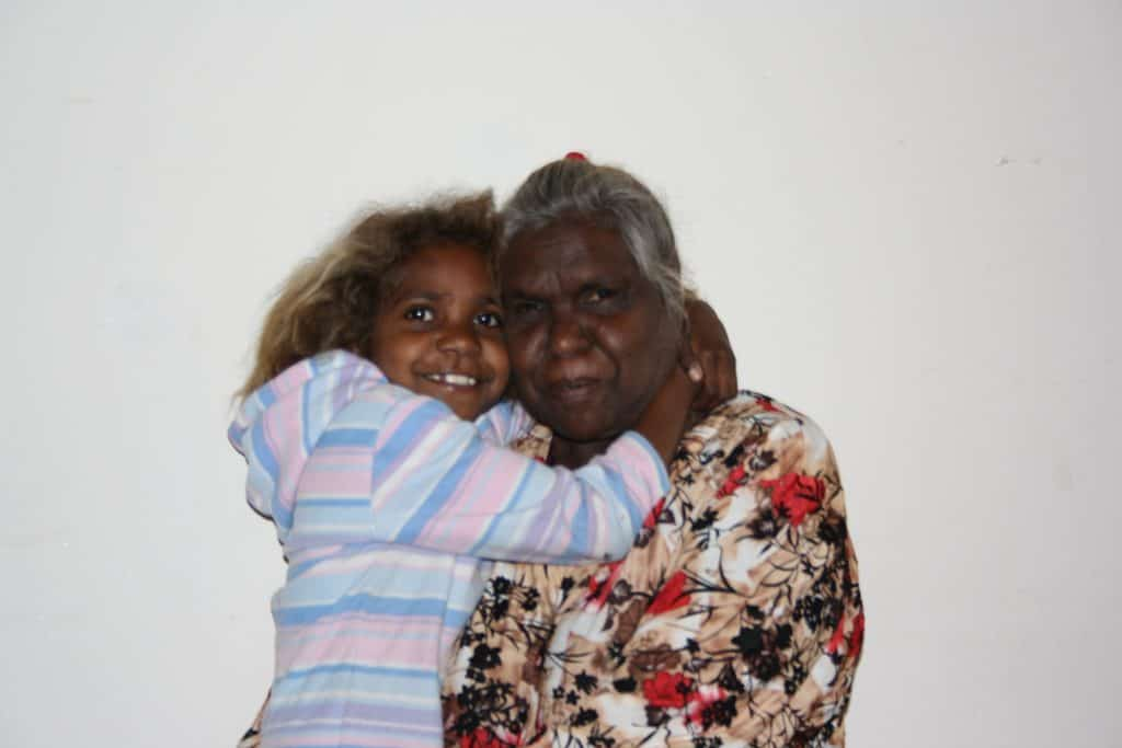 Nami Kulyuru and grand-daughter